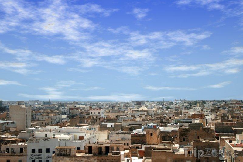 Fotka, Foto Sousse, panoráma města (Tunisko)