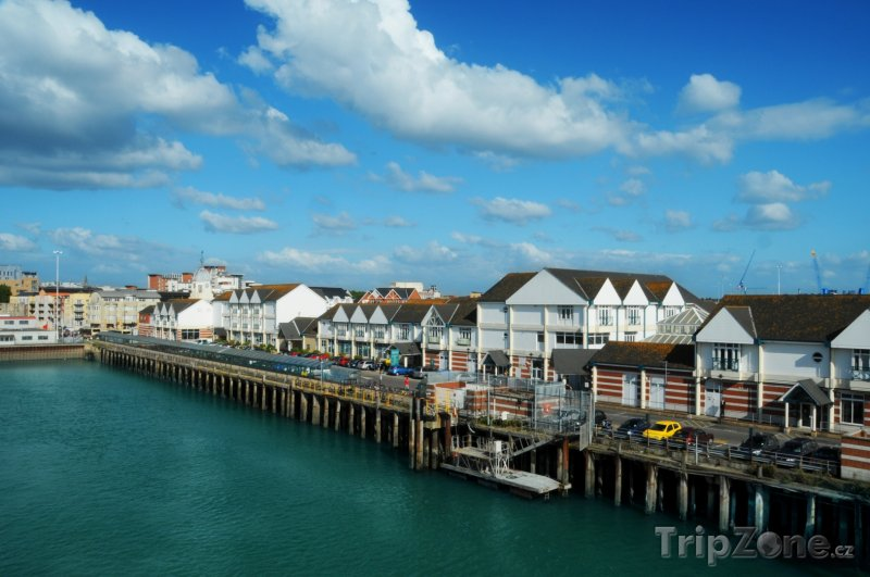 Fotka, Foto Southampton, nábřeží (Velká Británie)