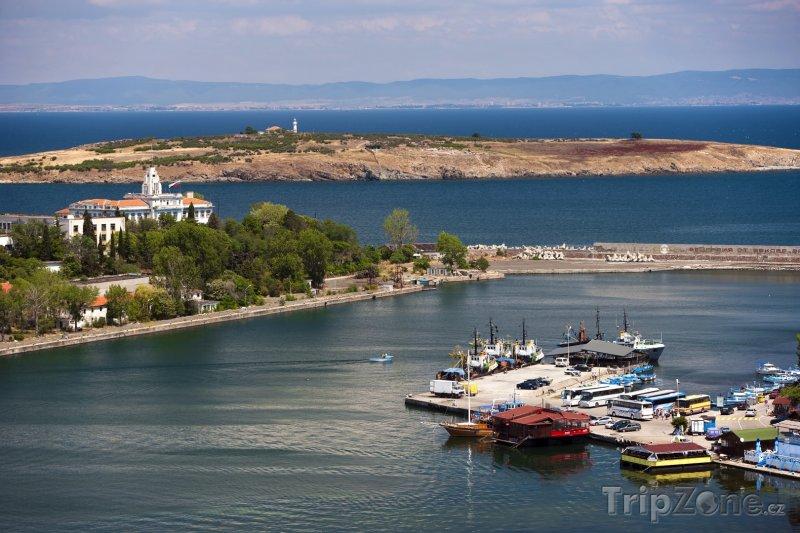Fotka, Foto Sozopol, pobřeží (Jižní pobřeží, Bulharsko)