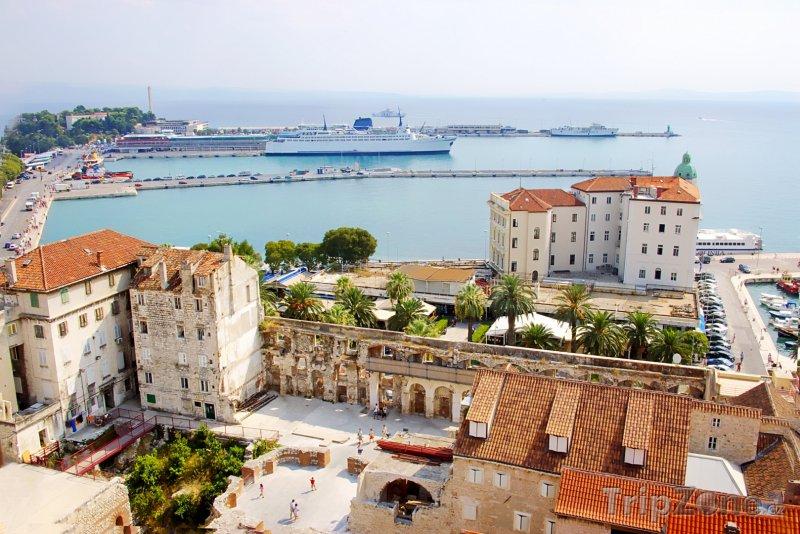 Fotka, Foto Split, historické centrum a přístav (Chorvatsko)
