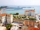 Split, historické centrum a přístav