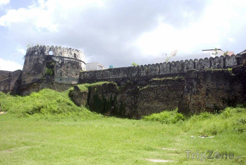 Fotka, Foto Stará pevnost ve Stone Townu - hlavním městě Zanzibaru (Tanzanie)