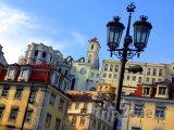 Staré domy v centru Lisabonu