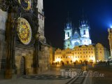 Staroměstské náměstí v noci