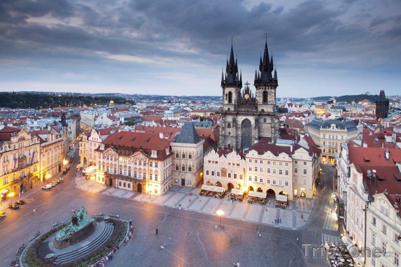 Fotka, Foto Staroměstské náměstí v Praze (Česká republika)