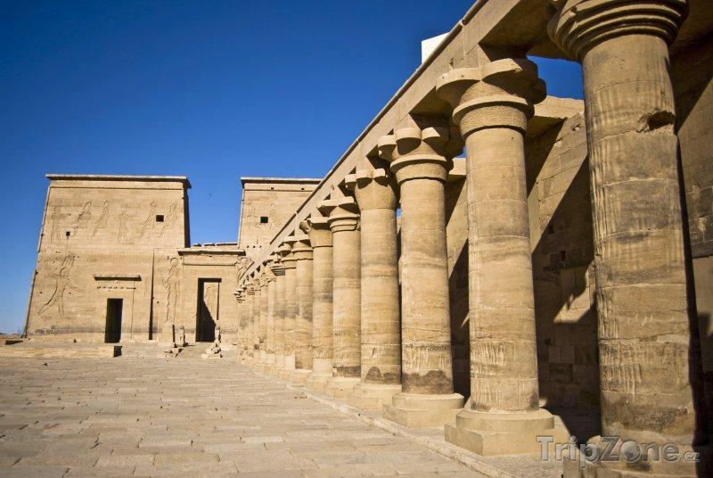 Fotka, Foto Starověký chrám Philae (Egypt)