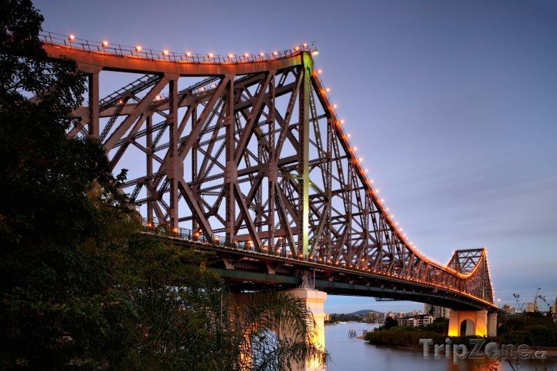 Fotka, Foto Story Bridge - Brisbane (Austrálie)