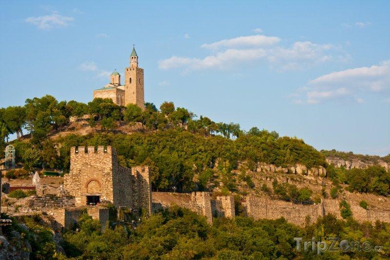 Fotka, Foto Středověká pevnost nad městem Veliko Turnovo (Bulharsko)