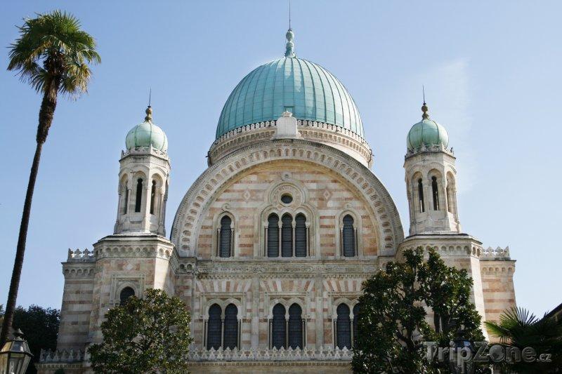 Fotka, Foto Synagoga Tempio Maggiore ve Florencii (Florencie, Itálie)