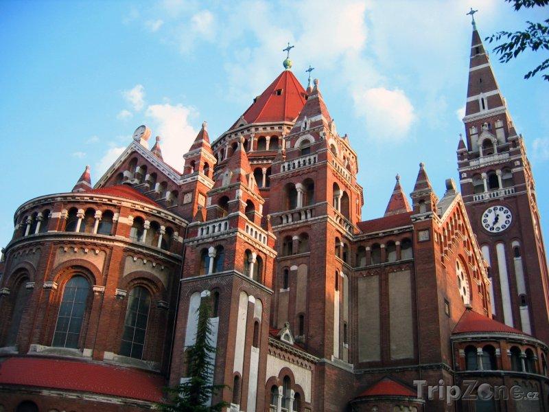 Fotka, Foto Szeged, kostel Panny Marie (Maďarsko)