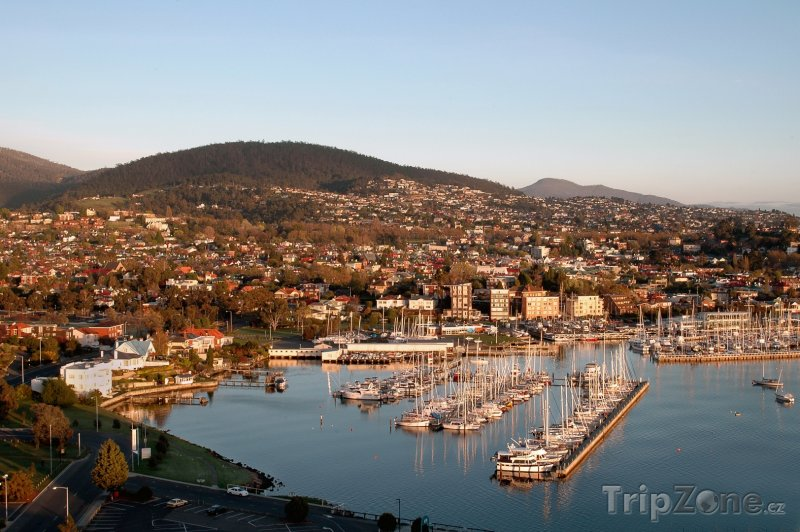 Fotka, Foto Tasmánie - přístav Hobart (Austrálie)