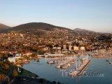 Tasmánie - přístav Hobart