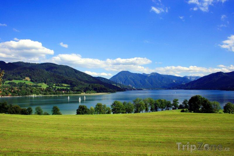 Fotka, Foto Tegernsee (Bavorsko, Německo)