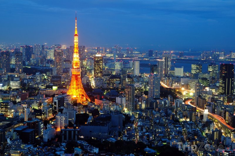 Fotka, Foto Tokijská věž (Japonsko)