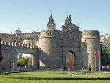 Toledo, městská brána Puerta de Bisagra