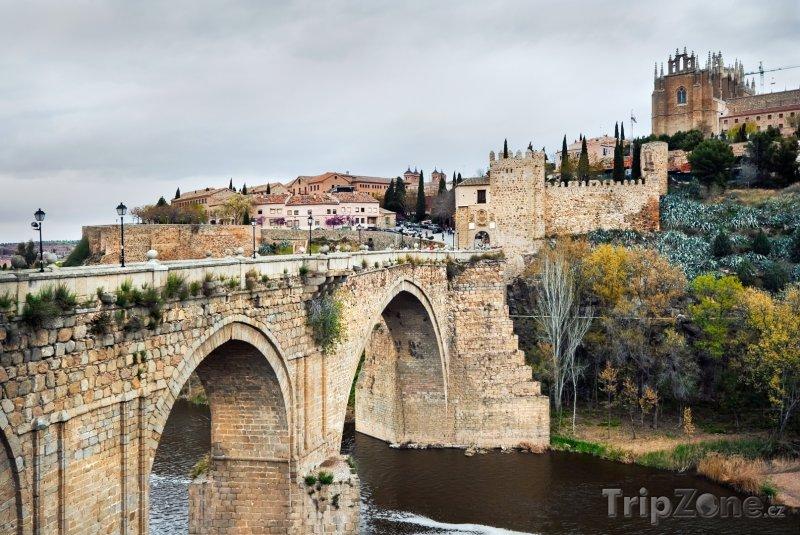 Fotka, Foto Toledo, most sv. Martina (Španělsko)