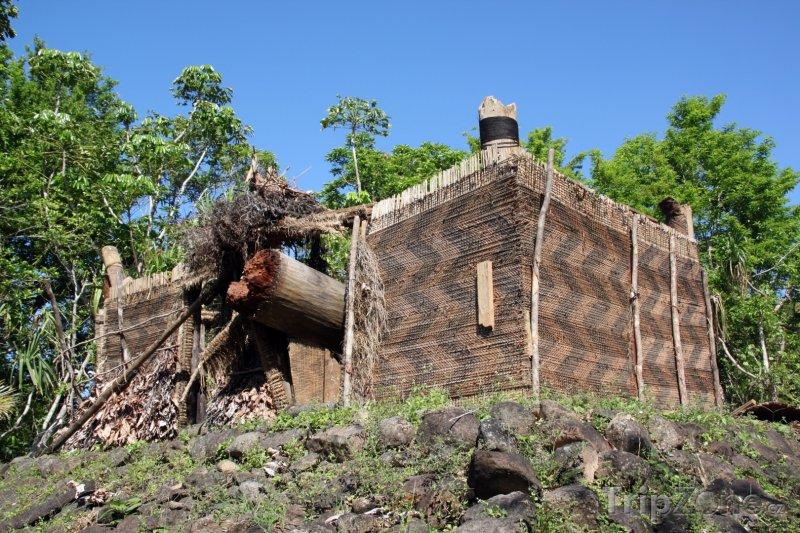 Fotka, Foto Tradiční dřevěná pevnost (Fidži)