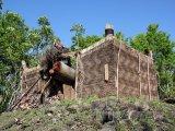 Tradiční dřevěná pevnost