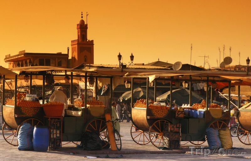 Fotka, Foto Trh v Marakéši (Maroko)