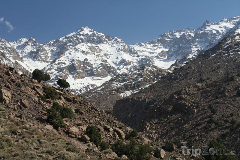 Fotka, Foto Tubkal - nejvyšší hora Vysokého Atlasu (Maroko)