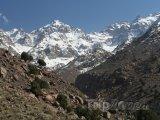 Tubkal - nejvyšší hora Vysokého Atlasu