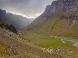 Údolí v Národním parku Ordesa y Monte Perdido
