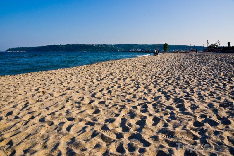 Fotka, Foto Varna, písčitá pláž (Severní pobřeží, Bulharsko)