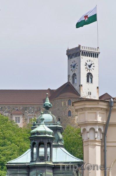 Fotka, Foto Věž Lublaňského hradu (Lublaň, Slovinsko)