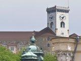 Věž Lublaňského hradu