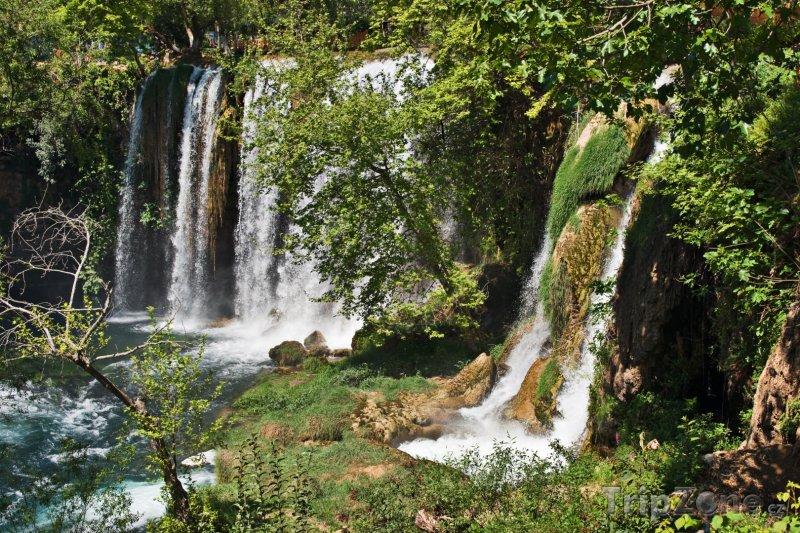 Fotka, Foto Vodopády Düden poblíž Antalye (Turecko)