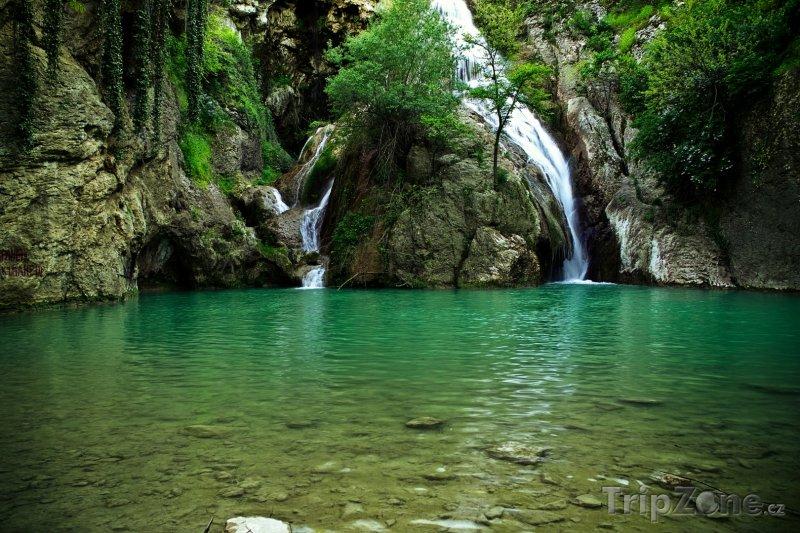 Fotka, Foto Vodopády u vesnice Chotnica (Bulharsko)