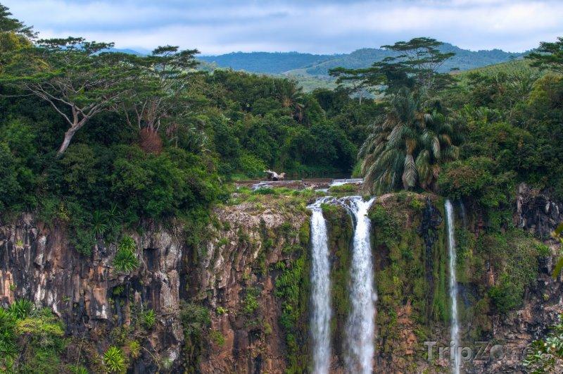 Fotka, Foto Vodopády v oblasti Chamarel (Mauricius)