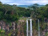 Vodopády v oblasti Chamarel