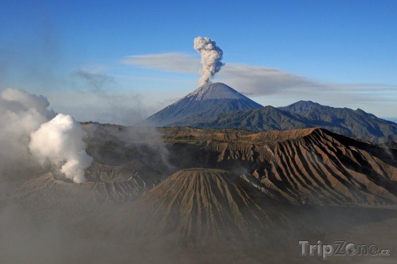 Fotka, Foto Vulkán Mount Bromo na Východní Jávě (Indonésie)