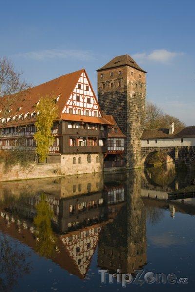 Fotka, Foto Weinstadel - Norimberk (Norimberk, Německo)