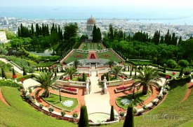 Zahrady Bahai ve městě Haifa