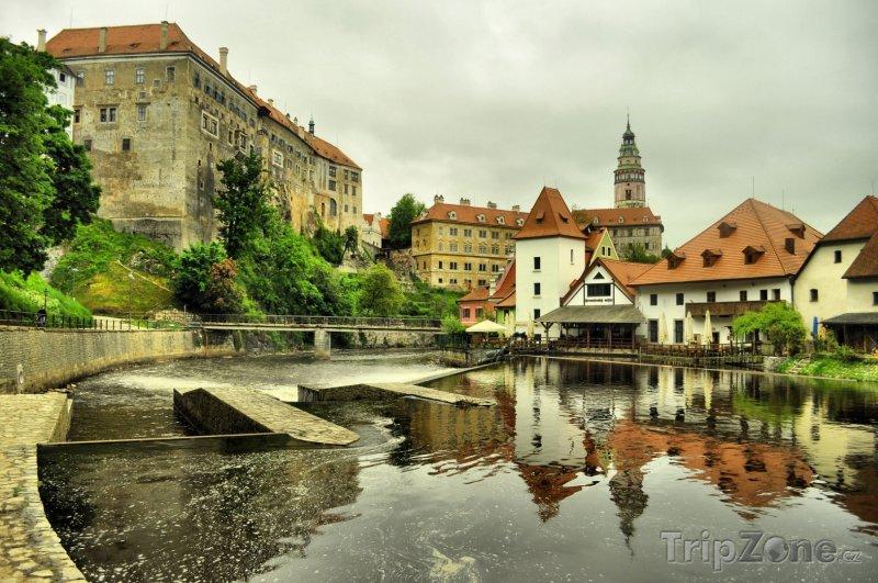 Fotka, Foto Zámek v Českém Krumlově (Česká republika)