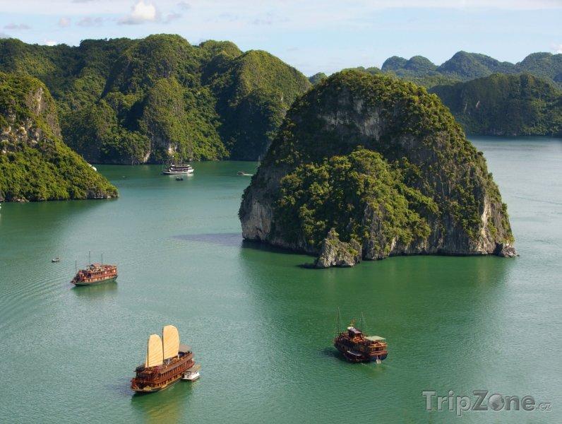 Fotka, Foto Zátoka Ha Long (Vietnam)
