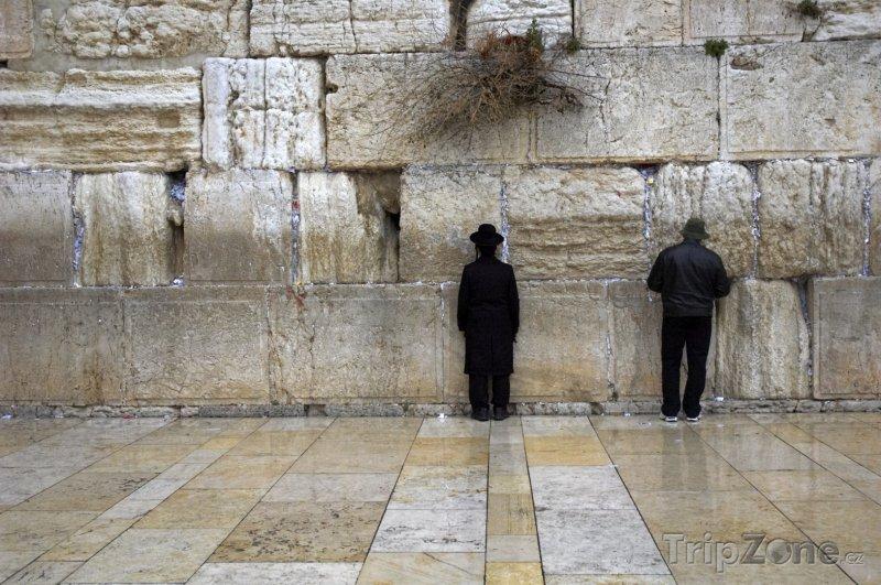 Fotka, Foto Zeď nářku (Západní zeď) v Jeruzalému (Izrael)