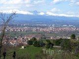 Alpy na d městem