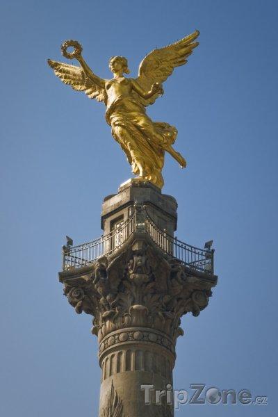 Fotka, Foto Anděl nezávyslosti (Mexico City, Mexiko)