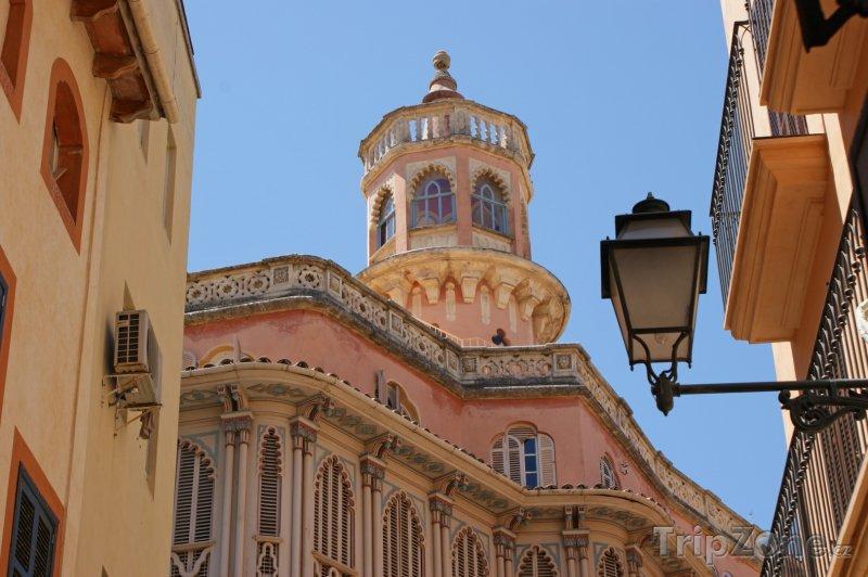 Fotka, Foto Architektura města Palma de Mallorca (Palma de Mallorca, Španělsko)