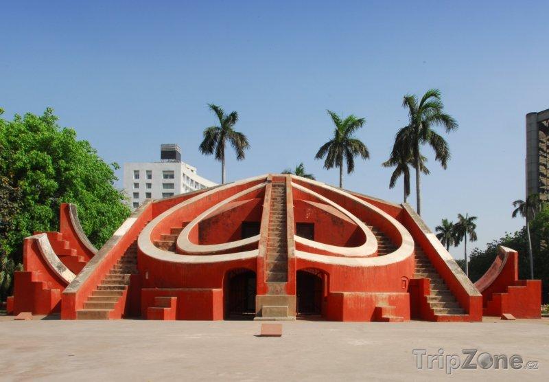 Fotka, Foto Atrologická observatoř Jantar Mantar (Nové Dillí, Indie)