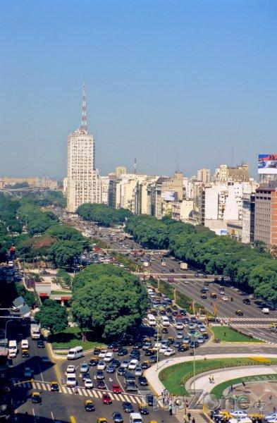 Fotka, Foto Avenue 9 de Julio (Buenos Aires, Argentina)