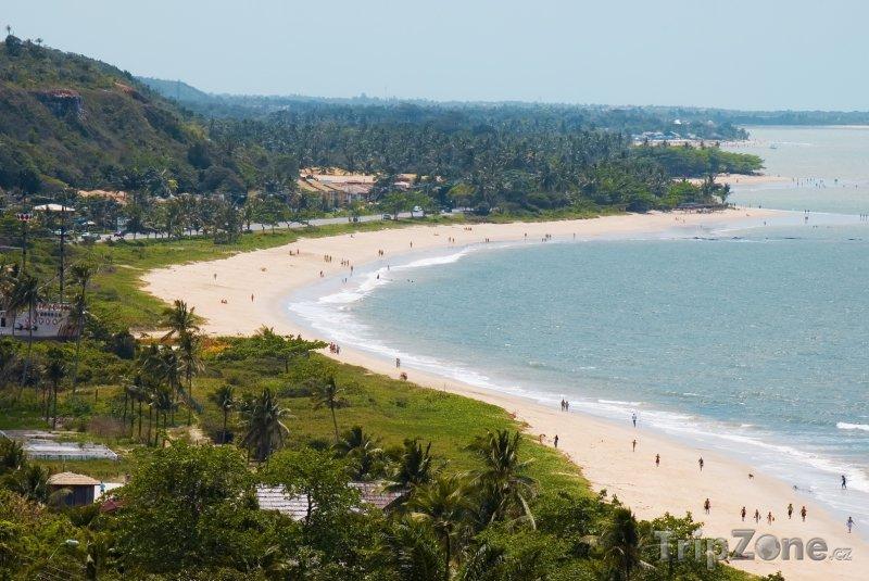 Fotka, Foto Bahia - pláž Porto Seguro (Brazílie)