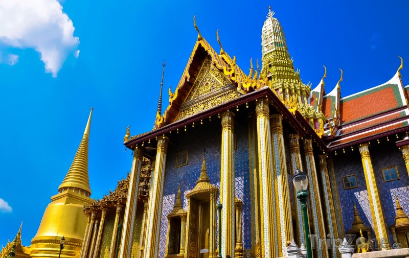 Fotka, Foto Bangkok - Grand Palace (Bangkok, Thajsko)