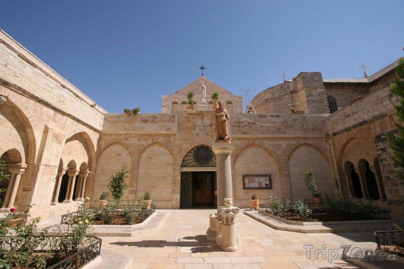 Fotka, Foto Betlém, kostel sv. Kateřiny (Izrael)