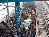 Běžný provoz na hlavním vlakovém nádraží