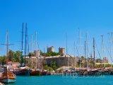Bodrum, jachty v přístavu