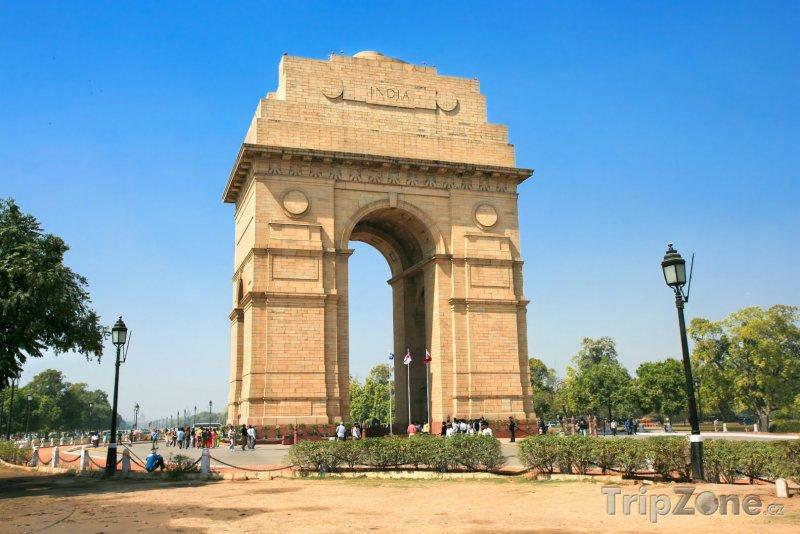 Fotka, Foto Brána Indie (Nové Dillí, Indie)